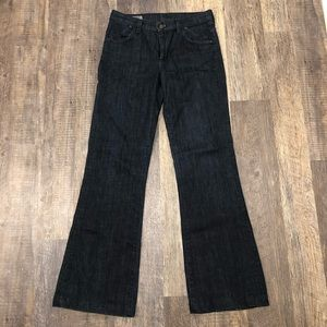Citizens of Humanity Dark Wide Leg Jeans